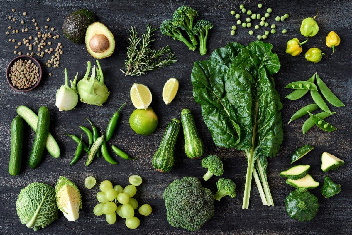 Зеленая диета трехдневная